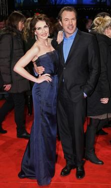 Carice van Houten and Sebastian Koch at the European premiere of &quot;Valkyrie.&quot;